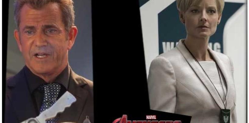 Robert Downey Jr. quiere a Mel Gibson y Jodie Foster en Age of Ultron