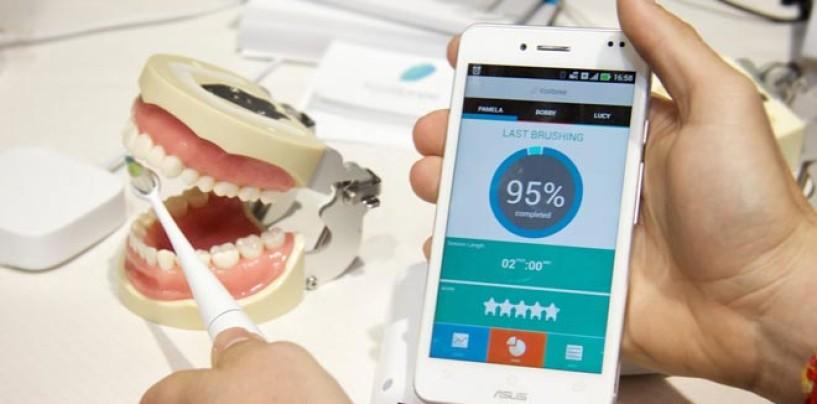 Un cepillo de dientes que se puede conectar a tu Smartphone