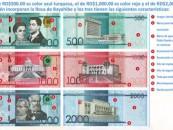 Entrarán en circulación nuevos billetes dominicanos
