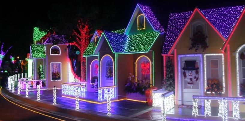 Parque de las luces 'Brillante Navidad' presentará nuevas atracciones