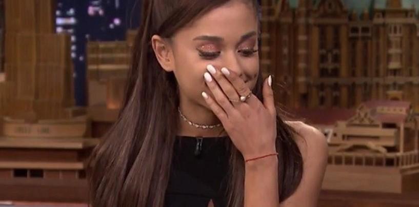 [VIDEO] Impresionante imitación de Ariana Grande a Celine Dion te dejará con la boca abierta