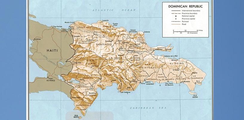 [VIDEO]Comunicadora revela grave error en el mapa de la República Dominicana