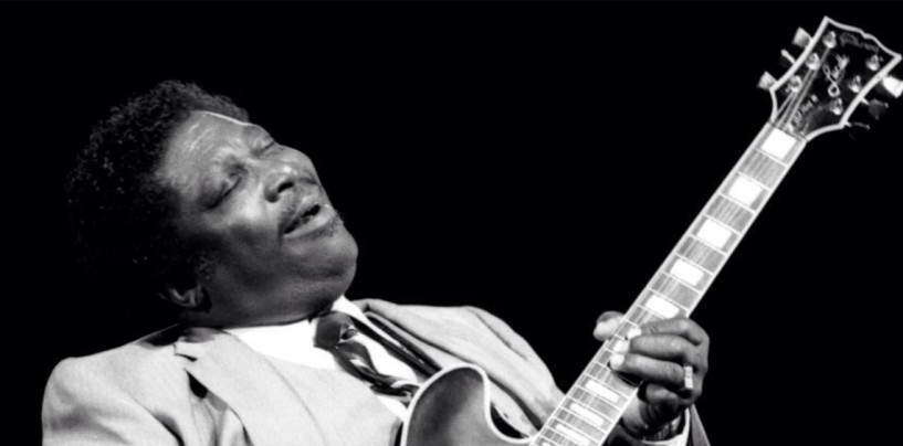 Muere BB King, el rey del género blues.