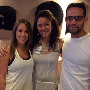 """Programa radial""""12y2"""" con Karina Laurrauri y Sergio Carlo"""