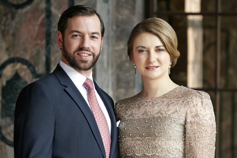 El Gran Duque y la Gran Duquesa herederos de Luxemburgo_Foto de Christian_Aschman