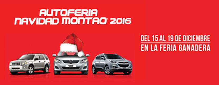 Queda solo una semana de la Autoferia Navidad Montao 2016